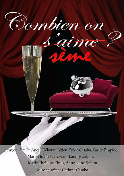affiche comédie burlesque 06600 Antibes