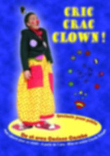 affiche spectacle clown enfants jeune public