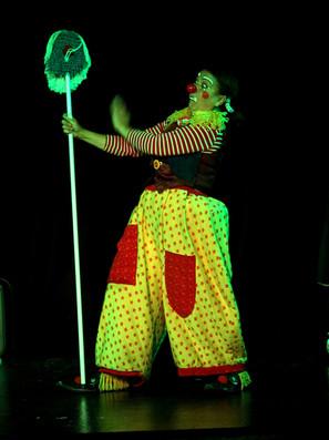 Spectacle clown jeune public