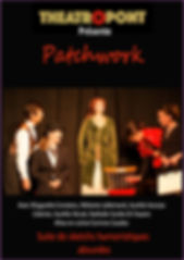 affiche spectacle ateliers théâtre adultes 34800 Canet