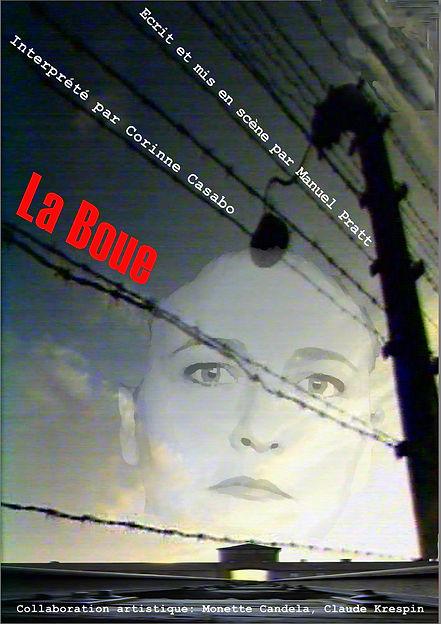 affiche piece theatre documentaire déportation