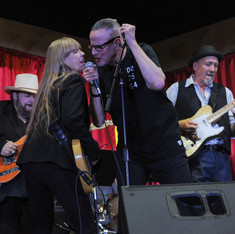 Carla Olson w Chip Kinman The Palomino Rides Again 2018
