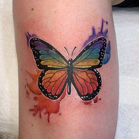 Rainbow butterfly 🦋 🌈 done _winnipegta