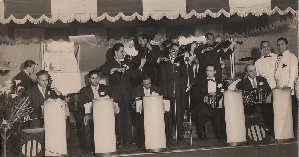 Orquesta de Piazzolla del 16 boite El Cairo