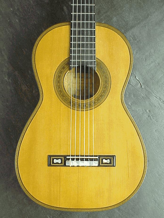 Guitarra Torres 1864 que perteneció a Tárrega