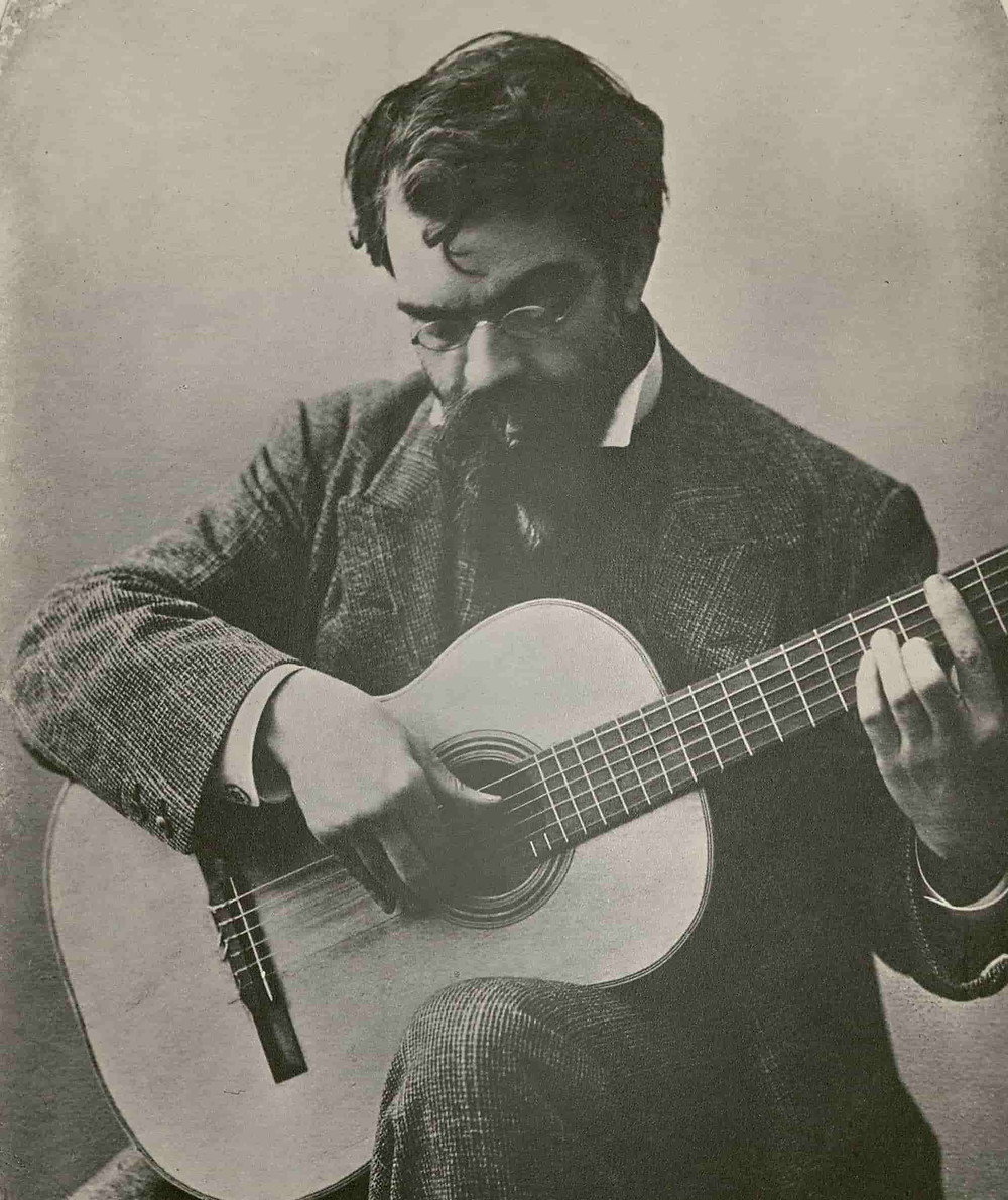 Francisco Tárrega guitarra