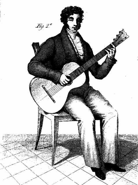 Dibujo de Aguado en 1825