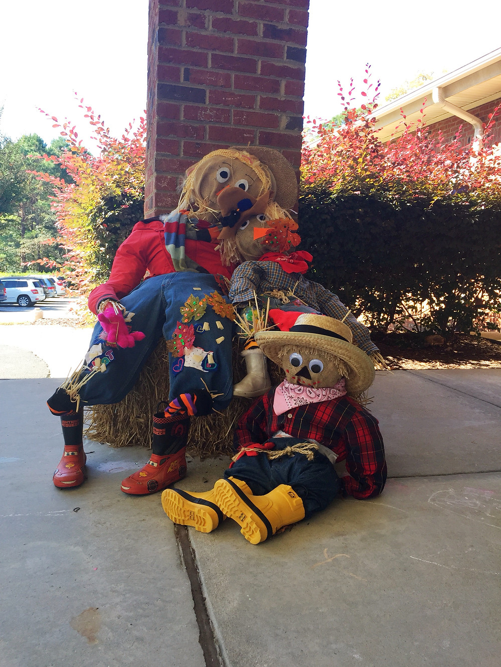 Fun Scarecrows at TAP