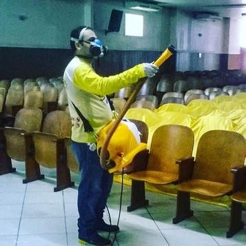Dedetização em igrejas e salão religiosos