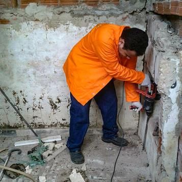 Perfuração no Solo contra cupins subterrâneos