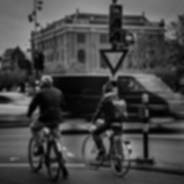 carril de bicicletas en amsterdam