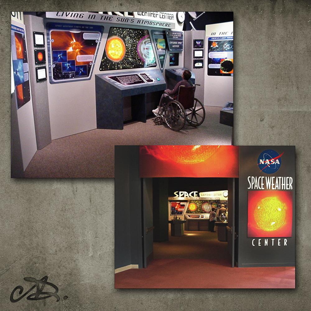 Outside NASA Exhibit