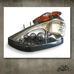 Automotive Dreamscape Sculpture