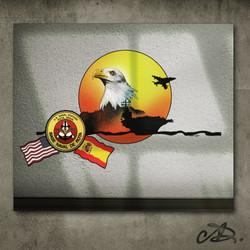 Spanish Navy Mural