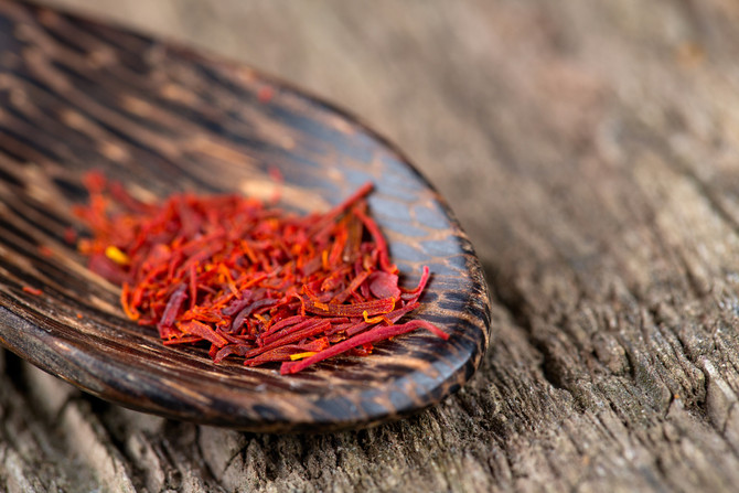 Saffron for better skin? Yes, really!