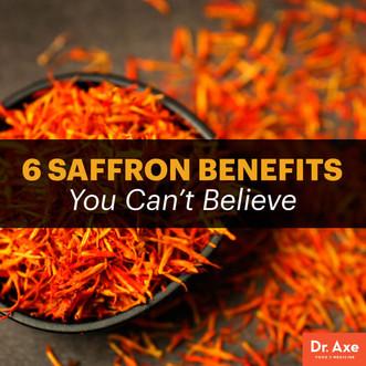 6 Health Benefits of Saffron