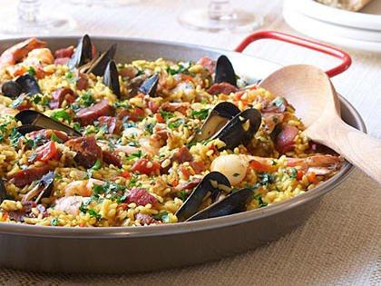 Recipe Alert : Traditional Spanish Paella with Saffron