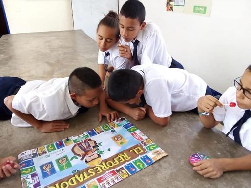 Promoviendo el juego El Reforestador
