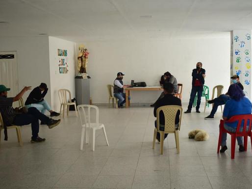 Seguimos nutriendo espacios para el diálogo...