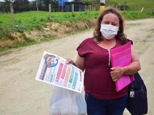Entrega de Don Madero, periódico comunitario de nuestro aliado DURATEX