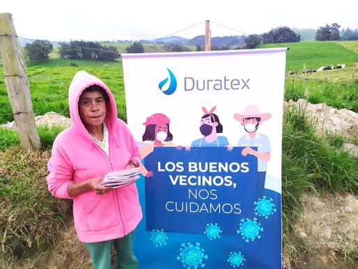 Duratex sigue llevando el mensaje de autocuidado frente al Covid-19