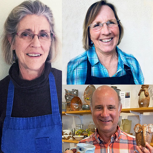 Mon. 1-4 / Handbuilding with Carole Paddock, Wendy Ford & Drew Lurie