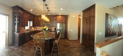 Earth tone kitchen design