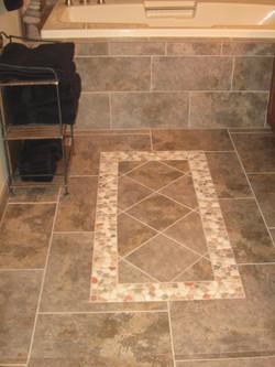 Tile rug