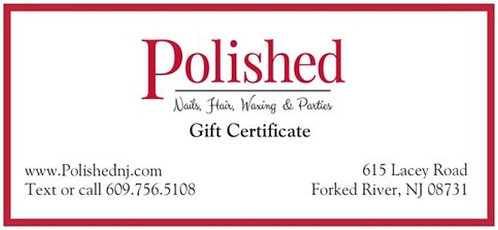 Polished Gift Certificate