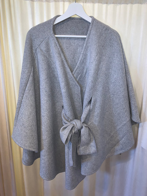 Light Grey Pull Tie Jacket
