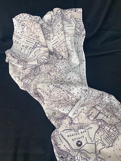 Nautical Map Scarf