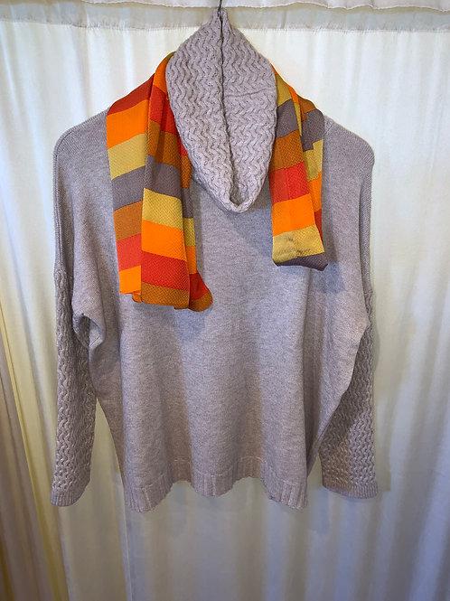Papillon Oatmeal Sweater $78