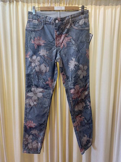 Floral Printed Jean