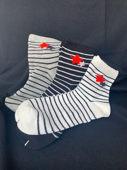 Stars and Stripes Mid - Length Socks