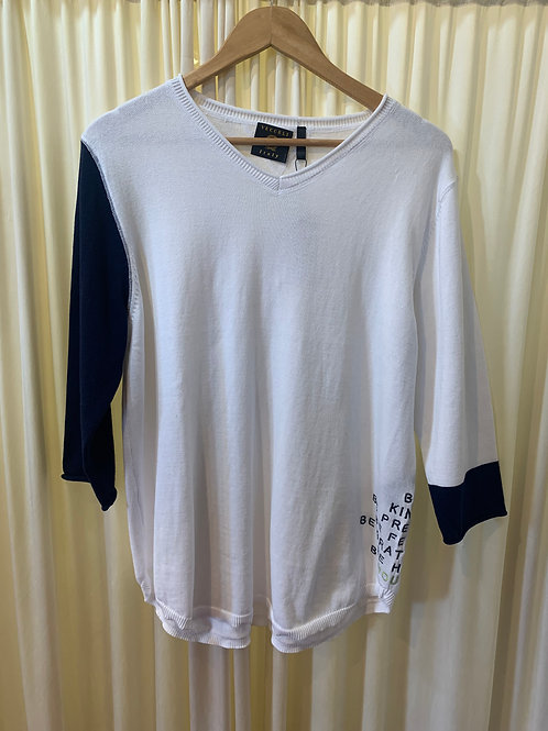 """""""Be Kind"""" Cotton Sweater"""