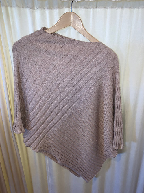 Oatmeal No Sleeve Pullover