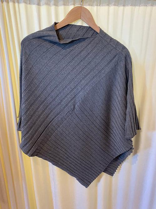 Grey No Sleeve Pullover