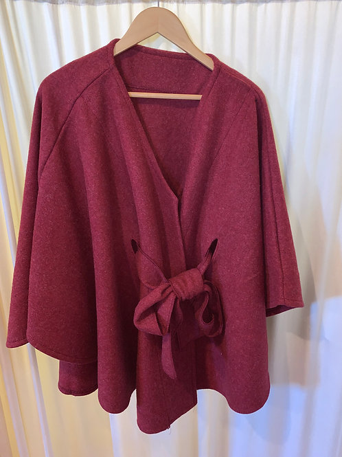 Rose Colored Pull Tie Jacket