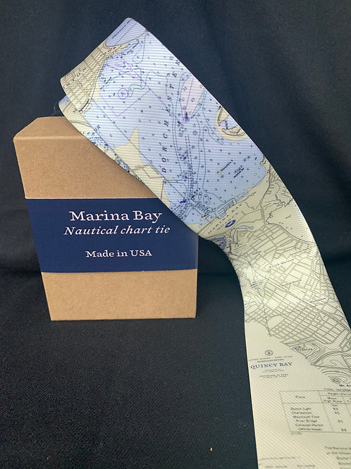 Nautical Map Tie