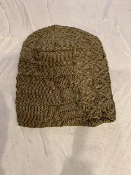 Men's Tan Winter Hat