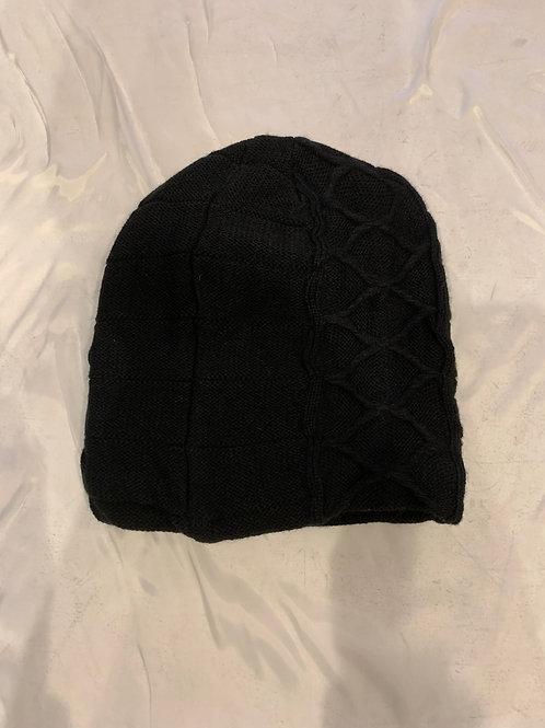 Men's Black Winter Hat