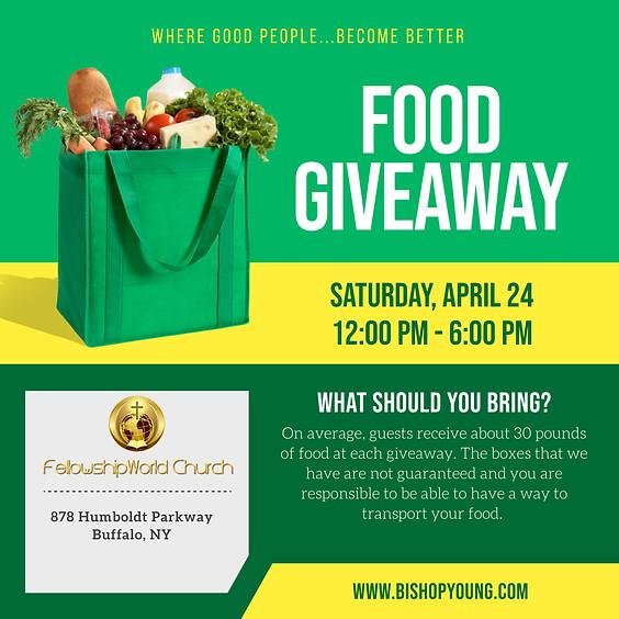 Food Giveaway @ FellowshipWorld