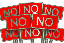 Just Say NO!!!