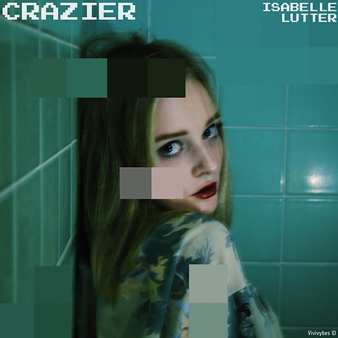 Crazier - cover art. shot by Laurel McBe