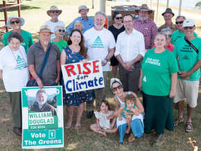 Greens launch in Moruya for the seat of Bega