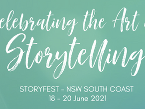 STORYFEST 2021 -  JUNE 18th to 20th.
