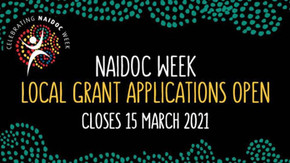 Youth, NAIDOC grants now open