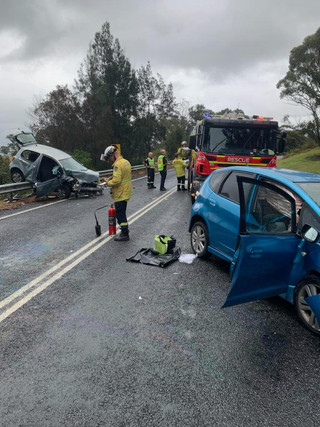 Motor Vehicle Accident Persons Trapped - Tomakin Road Mogo