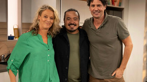Kelly Eastwood joins Adam Liaw on SBS 'The Cook Up' Wednesday 4th Aug