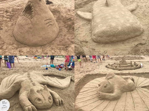 Broulee Sand Modelling Competition March 8th
